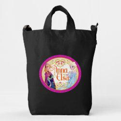 BAGGU Duck Bag with Anna & Elsa Floral Design design