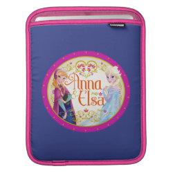 iPad Sleeve with Anna & Elsa Floral Design design