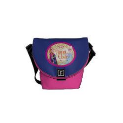 Rickshaw Mini Zero Messenger Bag with Anna & Elsa Floral Design design