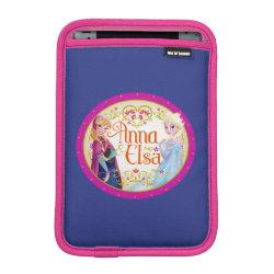 iPad Mini Sleeve with Anna & Elsa Floral Design design