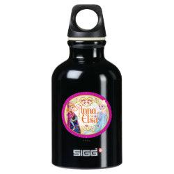 SIGG Traveller Water Bottle (0.6L) with Anna & Elsa Floral Design design
