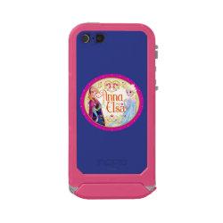 Incipio Feather Shine iPhone 5/5s Case with Anna & Elsa Floral Design design