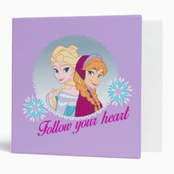 Avery Signature 1' Binder with Follow your Heart design