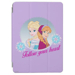 iPad Air Cover with Follow your Heart design