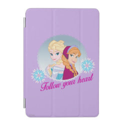 iPad mini Cover with Follow your Heart design