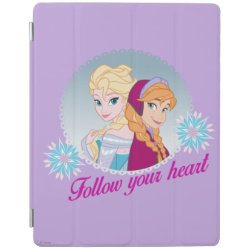 iPad 2/3/4 Cover with Follow your Heart design