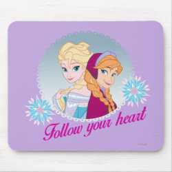 Mousepad with Follow your Heart design