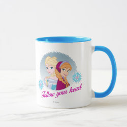 Combo Mug with Follow your Heart design