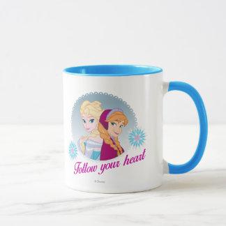 Anna and Elsa | Follow Your Heart Mug