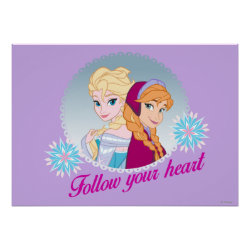 Matte Poster with Follow your Heart design