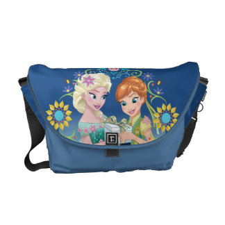 Anna and Elsa | Gift for Sister Courier Bag