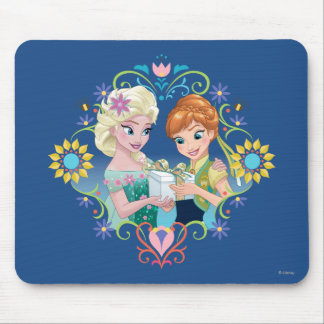 Anna and Elsa | Gift for Sister Mouse Pad