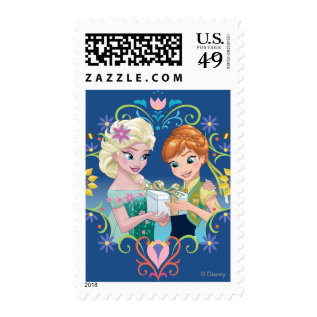 Anna And Elsa | Gift For Sister Postage at Zazzle