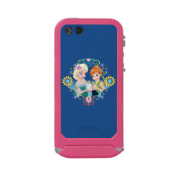 Incipio Feather Shine iPhone 5/5s Case with Anna & Elsa Frozen Fever Sister Gift design