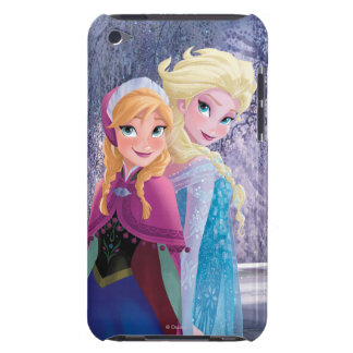 Anna and Elsa   Holding Hands Barely There iPod Cases