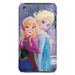 Sisters Anna & Elsa of Disney's Frozen Case-Mate iPod Touch Barely There Case
