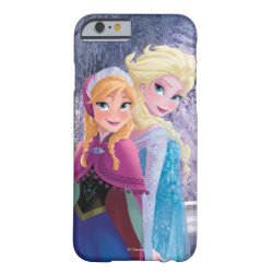 Case-Mate Barely There iPhone 6 Case with Sisters Anna & Elsa of Disney's Frozen design