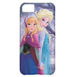 Case-Mate Barely There iPhone 5C Case with Sisters Anna & Elsa of Disney's Frozen design