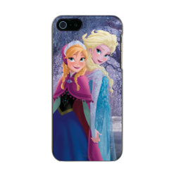 Incipio Feather Shine iPhone 5/5s Case with Sisters Anna & Elsa of Disney's Frozen design