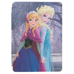 iPad Air Cover with Sisters Anna & Elsa of Disney's Frozen design