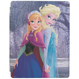 Anna and Elsa   Holding Hands iPad Smart Cover