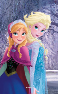 Disney Frozen Anna And Elsa Cases Covers