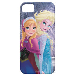 Case-Mate Vibe iPhone 5 Case with Sisters Anna & Elsa of Disney's Frozen design
