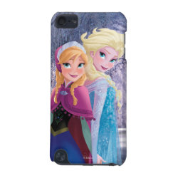 Case-Mate Barely There 5th Generation iPod Touch Case with Sisters Anna & Elsa of Disney's Frozen design