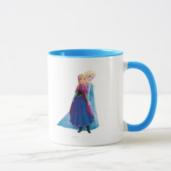 Combo Mug with Sisters Anna & Elsa of Disney's Frozen design