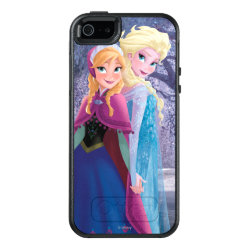 Sisters Anna & Elsa of Disney's Frozen OtterBox Symmetry iPhone SE/5/5s Case