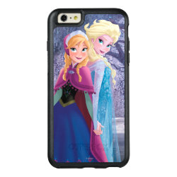 Sisters Anna & Elsa of Disney's Frozen OtterBox Symmetry iPhone 6/6s Plus Case