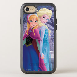 OtterBox Apple iPhone 7 Symmetry Case with Sisters Anna & Elsa of Disney's Frozen design
