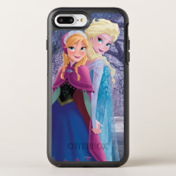 OtterBox Apple iPhone 7 Plus Symmetry Case with Sisters Anna & Elsa of Disney's Frozen design
