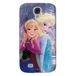 Sisters Anna & Elsa of Disney's Frozen Case-Mate Barely There Samsung Galaxy S4 Case