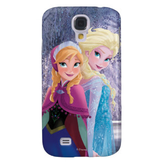 Anna and Elsa | Holding Hands Samsung Galaxy S4 Case
