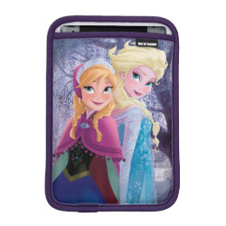 iPad Mini Sleeve with Sisters Anna & Elsa of Disney's Frozen design