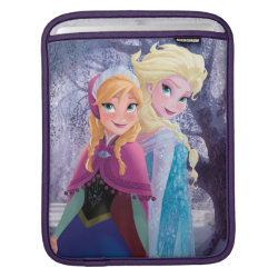 iPad Sleeve with Sisters Anna & Elsa of Disney's Frozen design