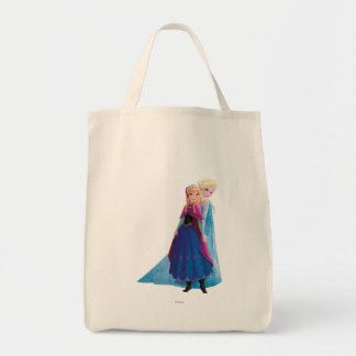 Anna and Elsa | Holding Hands Tote Bag