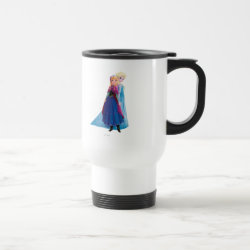 Travel / Commuter Mug with Sisters Anna & Elsa of Disney's Frozen design
