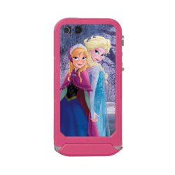 Sisters Anna & Elsa of Disney's Frozen Incipio Feather Shine iPhone 5/5s Case