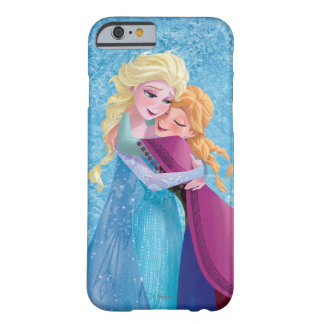 Anna and Elsa Hugging Barely There iPhone 6 Case