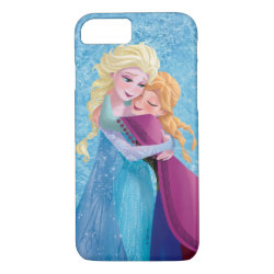 Case-Mate Barely There iPhone 7 Case with Sister Love: Anna & Elsa Hugging design