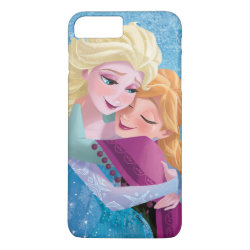 Case-Mate Tough iPhone 7 Plus Case with Sister Love: Anna & Elsa Hugging design