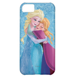 Case-Mate Barely There iPhone 5C Case with Sister Love: Anna & Elsa Hugging design