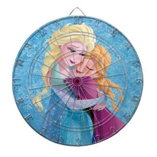 Anna and Elsa | Hugging Dartboard