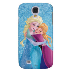 Case-Mate Barely There Samsung Galaxy S4 Case with Sister Love: Anna & Elsa Hugging design