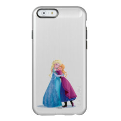 Incipio Feather® Shine iPhone 6 Case with Sister Love: Anna & Elsa Hugging design
