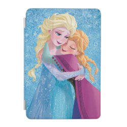 iPad mini Cover with Sister Love: Anna & Elsa Hugging design