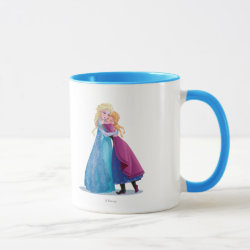 Combo Mug with Sister Love: Anna & Elsa Hugging design