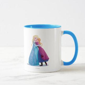 Anna and Elsa   Hugging Mug
